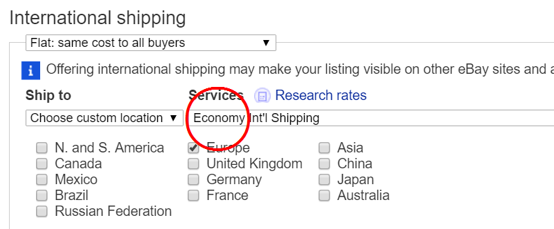 Economy Int'l Shipping