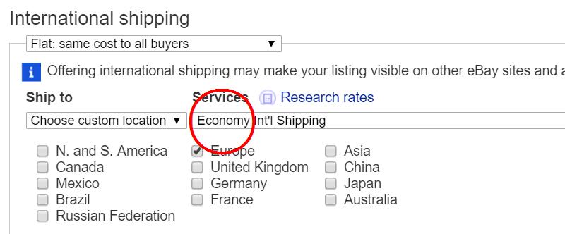 eBayでの発送方法はどれを選べばいい?【バイヤーを混乱させない】