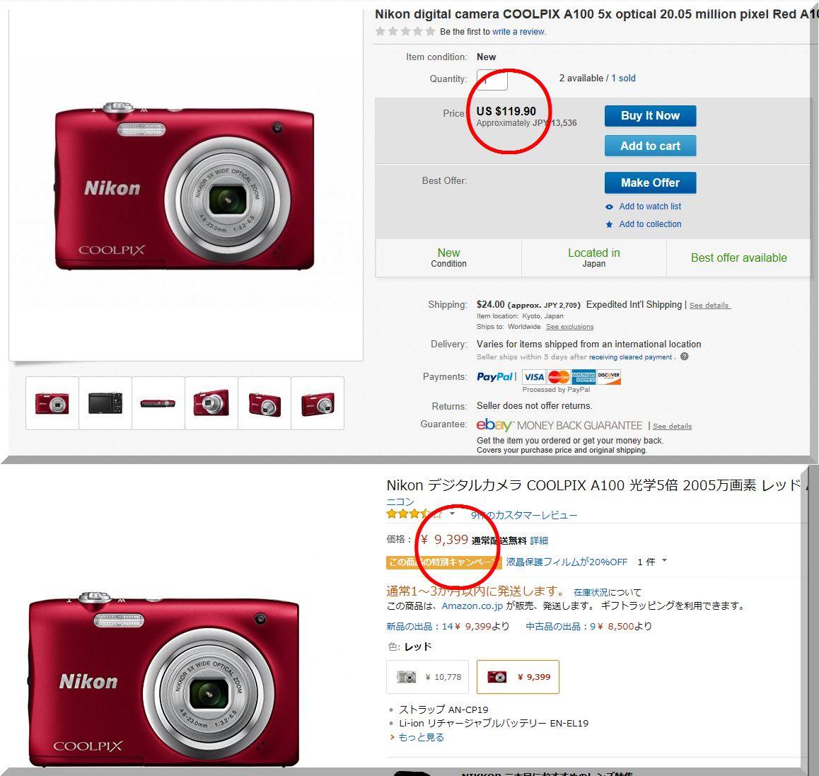 【eBay輸出】新品無在庫カメラのリサーチ動画《利益14,605円》